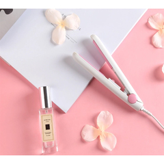 hair straightener hair straighteners portable Hair straightener Mini ceramic Hair straightener white 75mm*25mm
