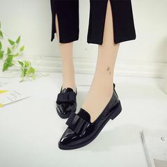 ladies flat shoes patent leather shoes low heel women office casual shoes pumps shoes for ladies black 39