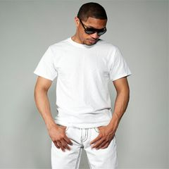 tshirt men Cotton 100% tshirts Short Sleeve men t-shirts Round Neck t shirt  plain t shirts white white XXL 100% cotton
