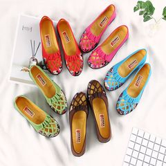 ladies flat shoes women canvas shoes low heel women office casual shoes pumps shoes for ladies red 41