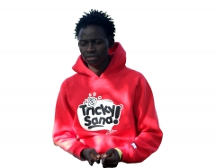 Churchill Clad Unisex Fashion Hoodie- MCA Tricky red large