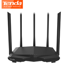Tenda AC7 Wireless wifi Routers11AC 2.4Ghz/5.0Ghz Wi-fi /1*WAN+3*LAN ports 5*6dbi high gain Antennas black