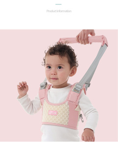 Baby steps against with lost baby learning to walk with breathable with mention the doll for a walk pink one size