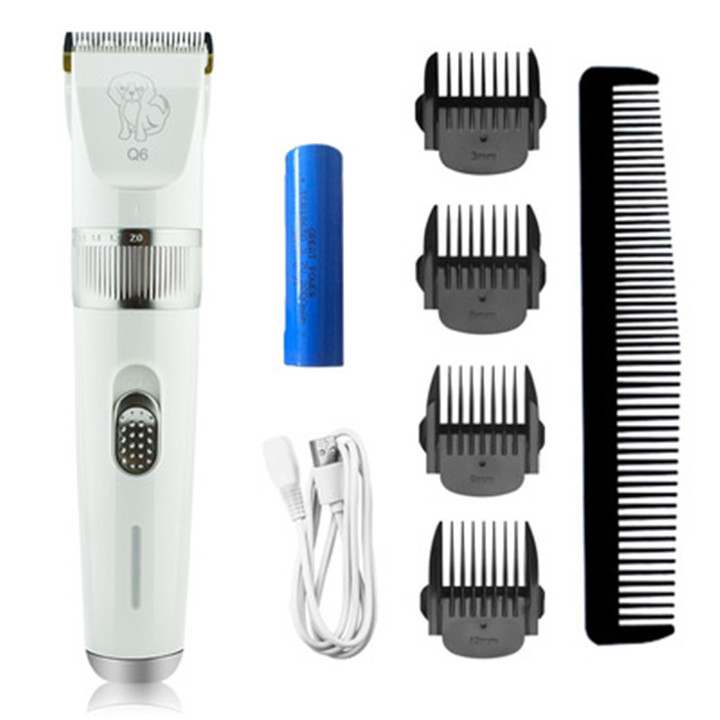 New USB charging pet hair clipper cat dog shaving Teddy dog hair hair clipper hair clipper as picture as picture