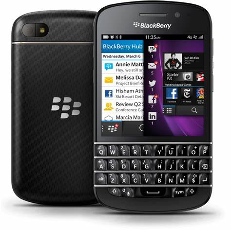 Blackberry Q10 2gb ram 16gb ROM QWERTY keyboard 8MP refurbished black