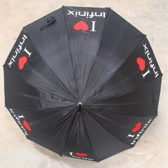 (Not for selling)Infinix Umbrella gift for Infinix Hot 10T Only Black