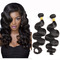 SIFAn Human Hair Extensions Hair Weave Brazilian Deep Curly Hair Weave black 16'-100g
