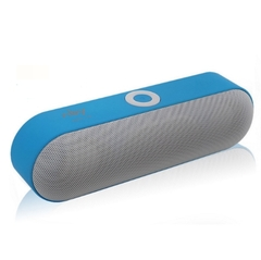 Wireless Subwoofer Portable Bluetooth Speaker Music Audio Receiver Phone Blutooth FM Radio USB blue NBY-18