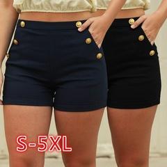 SIFAn Women Fashion Leggings Short Pants Casual Shorts Girlfriend Jeans for Girl Lady BLACK s