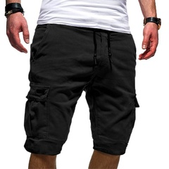 SIFAn Fashion Summer Short Pants Men Fashion Summer Beach Trousers Loose Men Pants Shorts black s