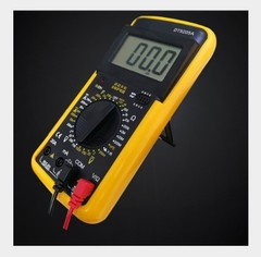 Electrician instrument DT9205A digital display multimeter high precision digit protection burn black 185*90*35mm