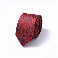 New 6cm Men's Tie Business Professional Tie Dacron Wedding Group Tie