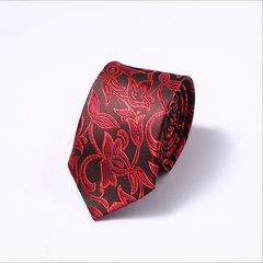New 6cm Men's Tie Business Professional Tie Dacron Wedding Group Tie 002 002 one size