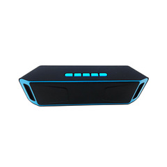 Wireless Outdoor Bluetooth Subwoofer Mini Bluetooth Audio hot sales blue one size