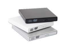 External USB optical drive DVD optical drive notebook desktop machine universal CD burner white