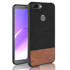 Infinix Note 4 Pro X571 Case Cover PU leather TPU Color matching soft Cell Phone Cases Protector model 4 standard  size