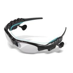 New Wireless Earphones Stereo Handfree Bluetooth Headphones Sunglasses Earpieces Glasses Headsets Transparent