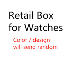 2019 New Design Beautiful Retail Box for Women's watches Men's watches kids watches send random one size