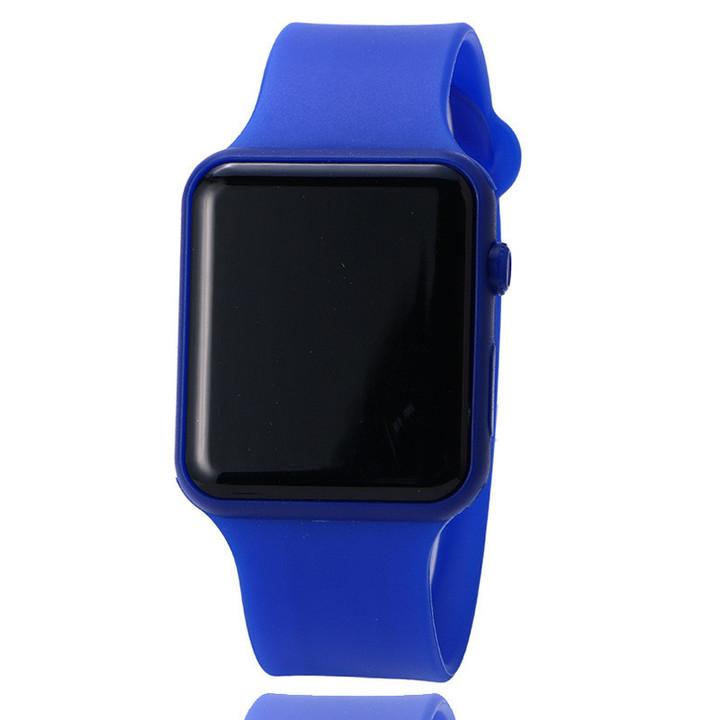 2019 New Low Price Silica gel LED Watch fashion Student Digital Watch Colorful Fashion Watch color 01 one size