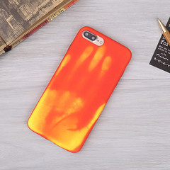 Shell Temperature,Sensing Change Color Phone Cover Case For iPhone X 5 5S 6 7 8 Plus color 1 iphone 6plus