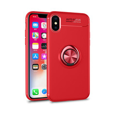 Luxury Car Holder Ring Case Invisible ring bracket For IPhone XS Max XR X/7/6/6s Phone Case Cover Color 1 iphone 6s plus