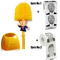 Donald Trump Toilet Brush Toilet Paper Bundle Funny Political Gag Novelty Item Yellow one size