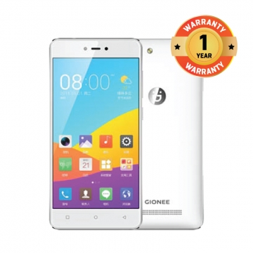 Gionee F103PRO  5.0 HD  Touch Android 6.0  ROM 16G  RAM3G   Smart Phone White