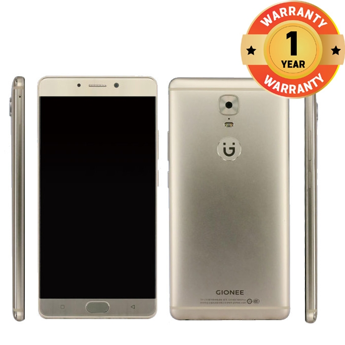 "Gionee S6S: 5.5""13MP+8MP Camera,3 GB RAM+32 GB ROM, 3150mAh Battery Golden"