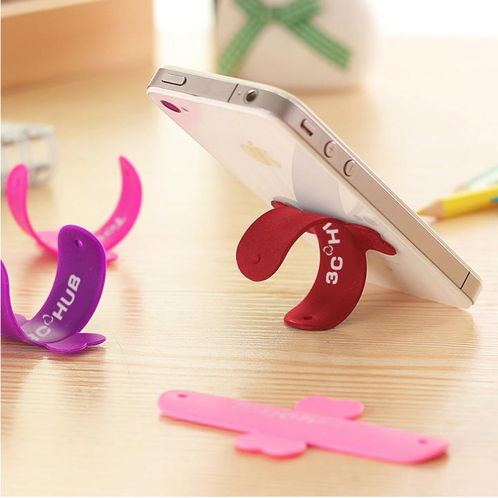 U-shaped Stick & Flip Smartphone Holder and Stand Random 1pcs