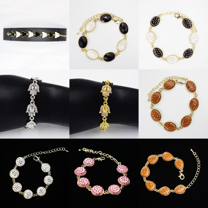 Shining Elegant Fashionable Bracelet Ladies' Jewelry Women Gift random normal