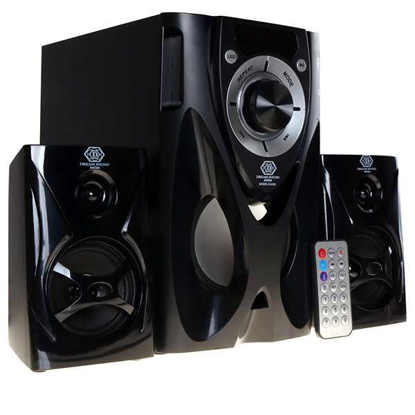 Dream Sound D-2430 2.1 Channel Bluetooth Home Theater System Woofer Black 10000W D-2430