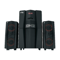 J608 2.1 Multimedia Speaker System JTC Woofer Black 9000W PMPO J608