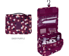 HAKKA FBK Hanging Toiletry Bag - Large Cosmetic Makeup Travel Organizer with Sturdy Hook No.3