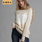 Rain Season Women Sweaters Pullovers American Style Long Sleeve Casual Crop Sweater Slim Solid Tops White s