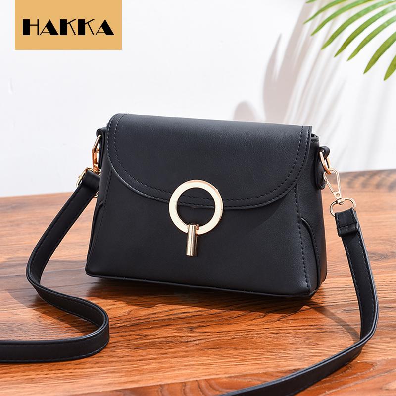 55f97660515 Women Shoulder Bag Luxury 2019 New Designer Small Crossbody Bags PU Leather  Purses and Handbags Black 9inch*4inch*6inch