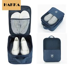 HAKKA Shoes Folder Travelling Shoes Bag Shoes Organizer Black