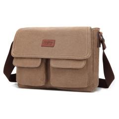 MeCooler Men Shoulder Bag Work Big Briefcase Sport Messenger Bag for Travel Side Bag Cross Body Pack blue large