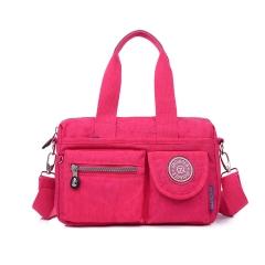 MeCooler Women Handbag Shoulder Bag Sport Girls Messenger Bag for Satchel Travel Cross Body Side Bag red Medium