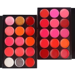 [with lip brush] 15 color professional lipstick plate lipstick plate lip color plate studio 15 colors