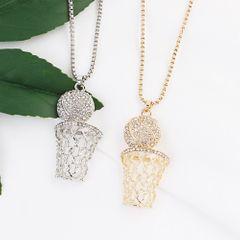 Men's& Women's basketball box necklace, hip hop hiphop sports fashion necklace. gold color 2.8*6.5