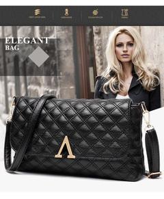 2019 New Fashion Ringgaard Women's Bags Simple Women's Single Shoulder Slant Bag black one size