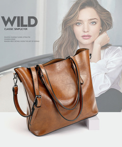 2019 fall and summer new bucket bag simple large bag single shoulder oblique bag lady handbag wine red one size