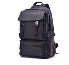 New fashion Student Backpack Oxford backpack shoulder bag for men and women black one size