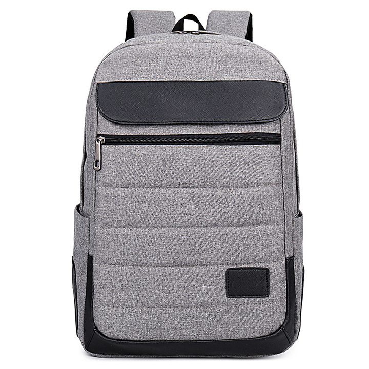 Fashion Leisure Travel Shoulder Backpack Multifunctional Laptop Bag and School Bag gray one size