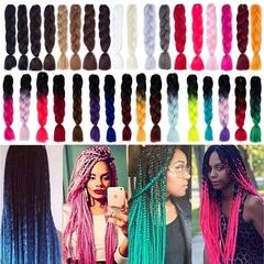 Women's Fashion 60 Colors Jumbo Crochet Braiding Hair Ombre Synthetic Kanekalon (100g/pack) plz tell me the number before you buy 1pvc