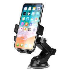 Nicekey Universal Car Phone Mount Strong Sticky Gel Pad with One-Touch Design