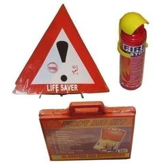 Bundle - Life Saver, Fire Extingusher + First Aid Kit - Multicoloured