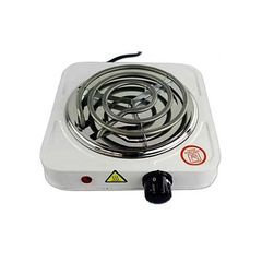 Electric Cooker / Single Sprial Hotplate White Normal