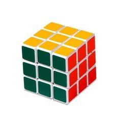 Fancy Magic Rubik's Cube for children - Multicolored Multicolour Normal
