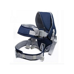 12Kg Baby Carrier Hip Seat with Hood Blue Normal